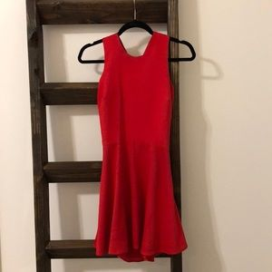 Naven Red Dress